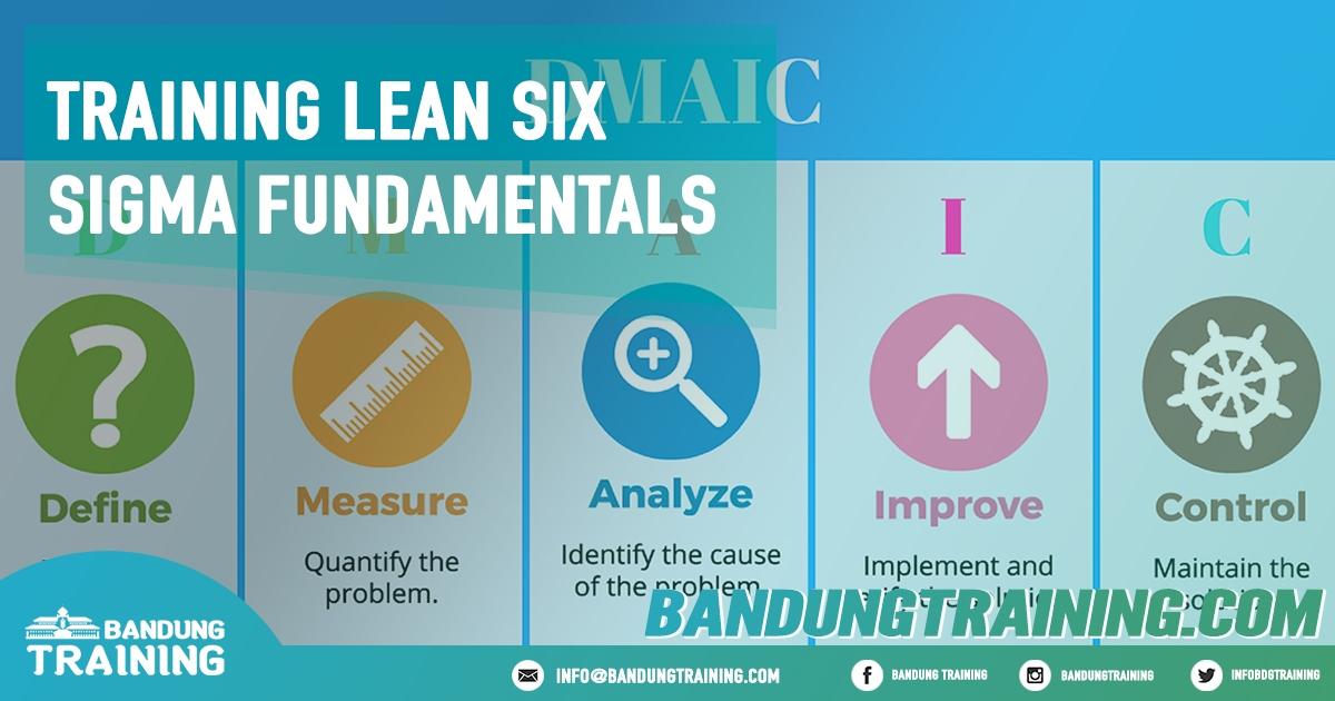 Training Lean Six Sigma Fundamentals Pusat Informasi Bandung Pusat Training Pelatihan Jadwal Jogja Jakarta Bali Surabaya