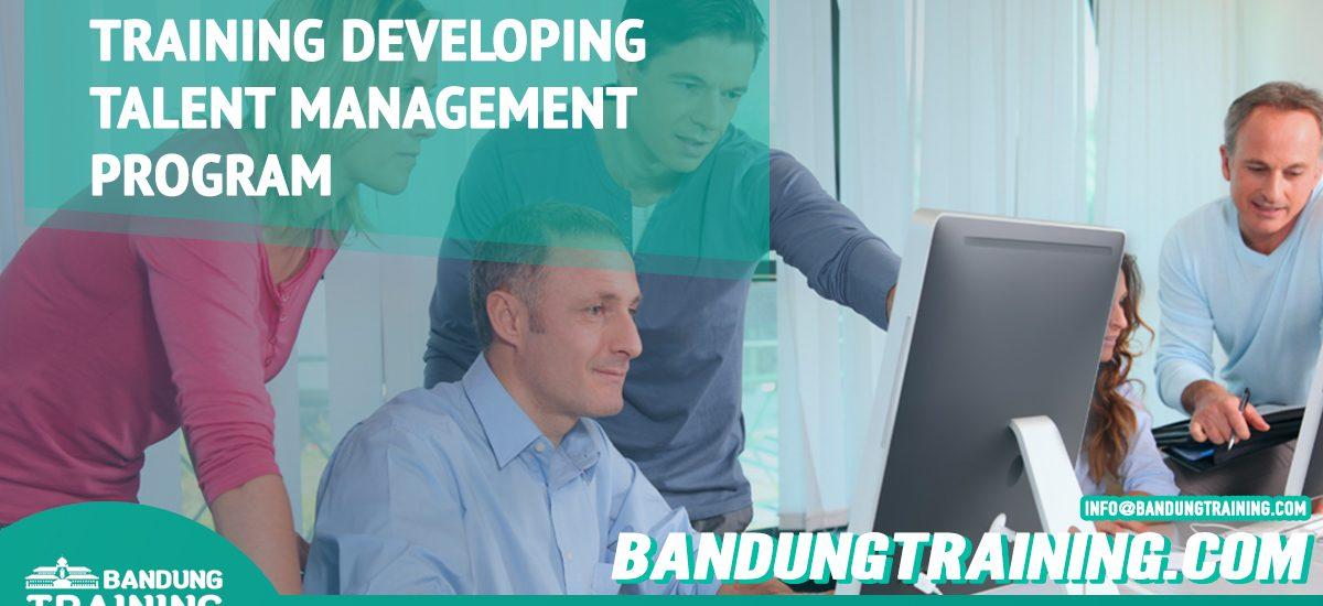 Training Developing Talent Management Program Bandung Training Center Info Cashback di Pusat Jadwal SDM Terbaru Murah Fix Running
