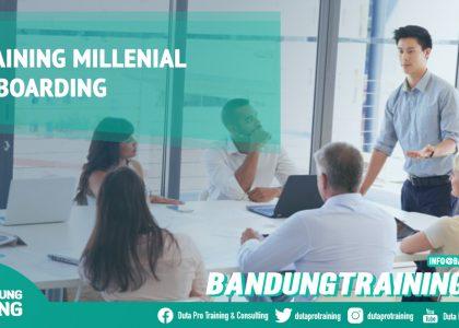 Training Millenial OnBoarding Bandung Training Center Info Cashback di Pusat Jadwal SDM Terbaru Murah Fix Running